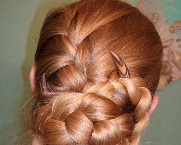 The Croissant Updo