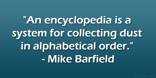 Mike Barfield Quote