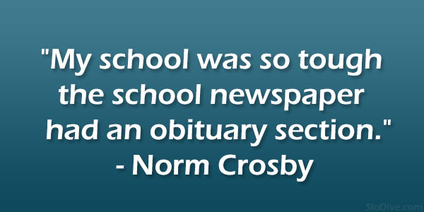 Norm Crosby Quote