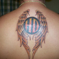 25 Energetic Harley Tattoos