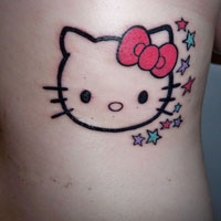 23 Fun Hello Kitty Tattoos For 2013