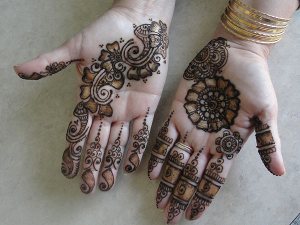 Designs Of Mehndi For Palm : Cultured henna designs
