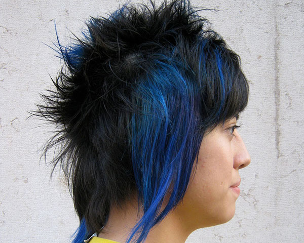32 eyecatching highlights for black hair for 2013 black hair highlights electric pmusecretfo Gallery