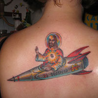 28 Saintly Jesus Tattoos For 2013