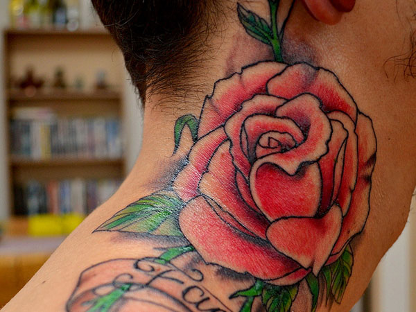 Neck Tattoos For Men 26 Tastesful Collections Slodive