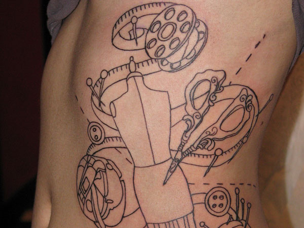 Fashion Designer Tattoo