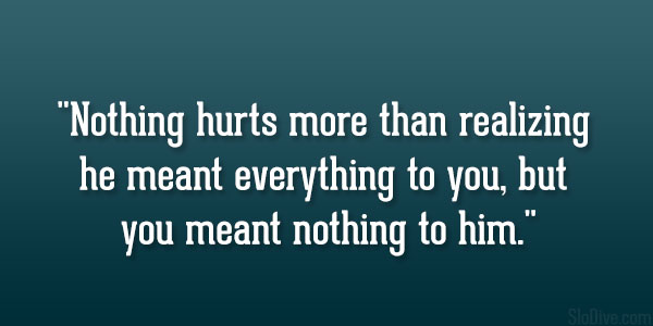 Nothing Hurts