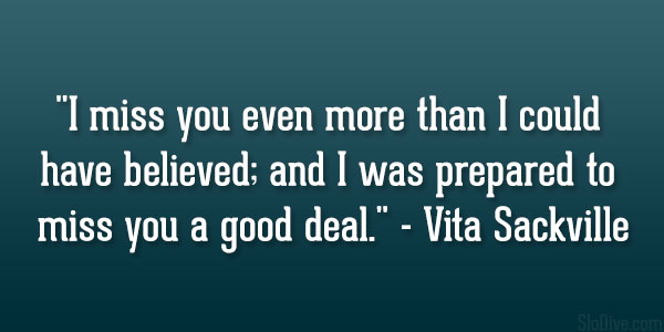 Vita Sackville Quote