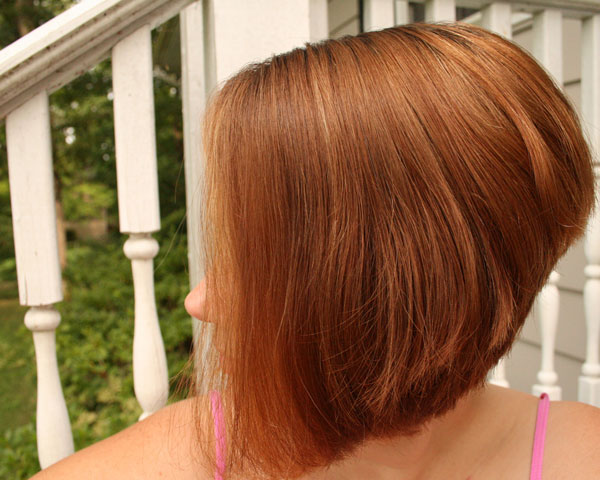 Thick Reverse Bob Hairstyle