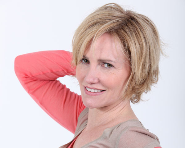 Mature Woman's Shaggy Hairstyle
