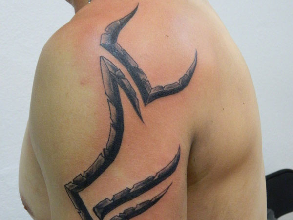 Powerful Grooves Tat For Guys