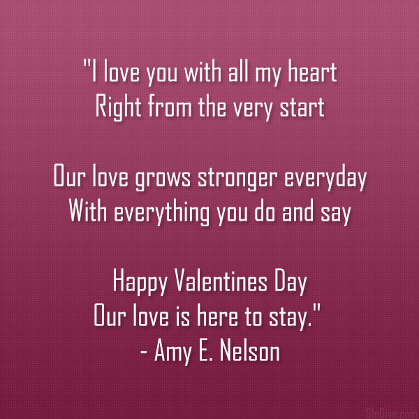 Valentines Day Poems 42 Cute And Funny Collections Slodive