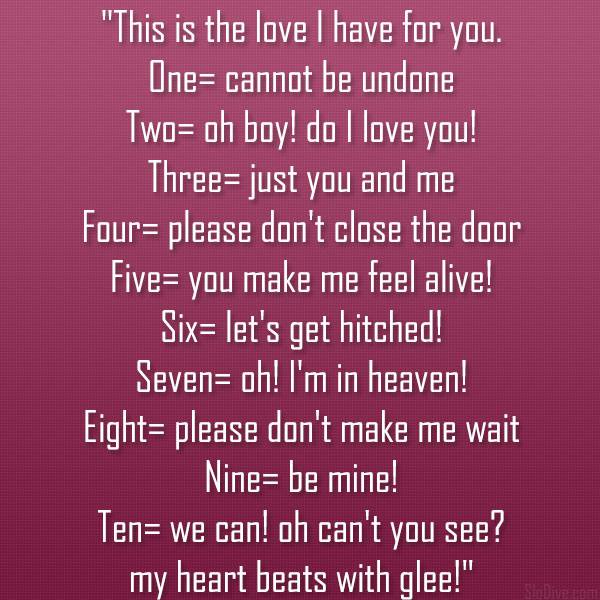 you and me poems