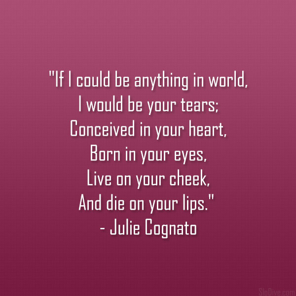 Julie Cognato Poem