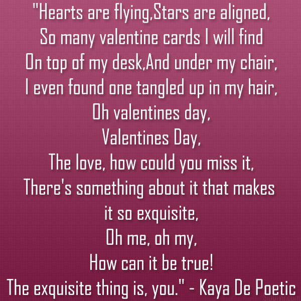 42 Valentines Day Poems You Can Definitely Use – Valentine Cards Poems