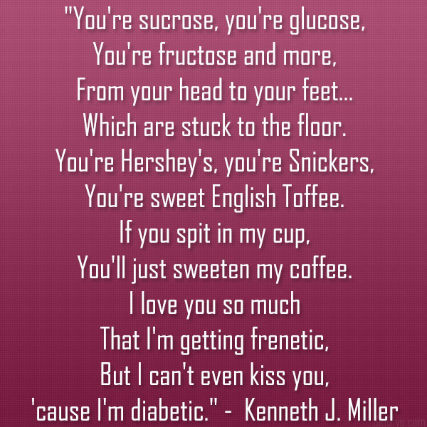 you are so sweet poem