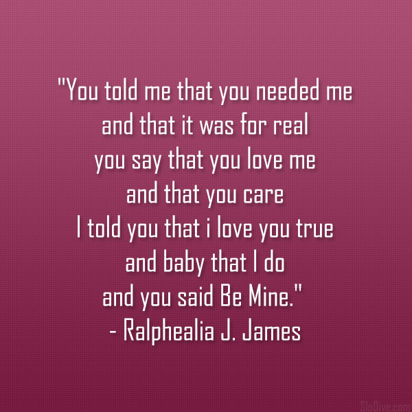Ralphealia J. James Poem