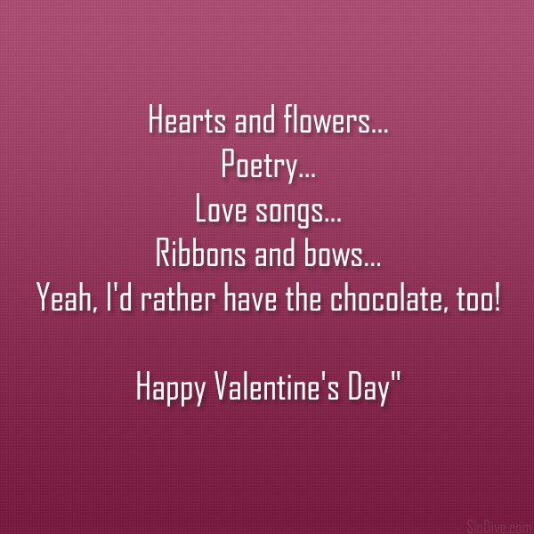 Valentines Day Poems