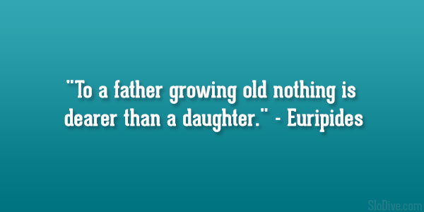 Euripides quotes on daughters