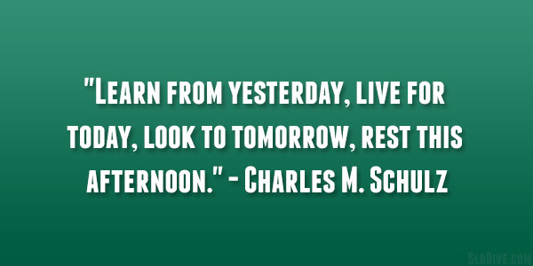 Charles M. Schulz Quote