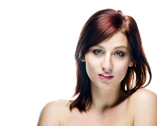 Side Bangs Bushy Hairstyle