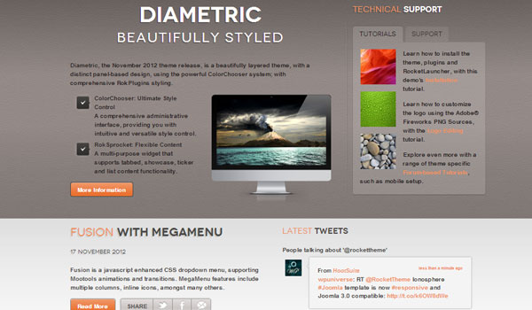 diametric 41 Best WordPress Themes
