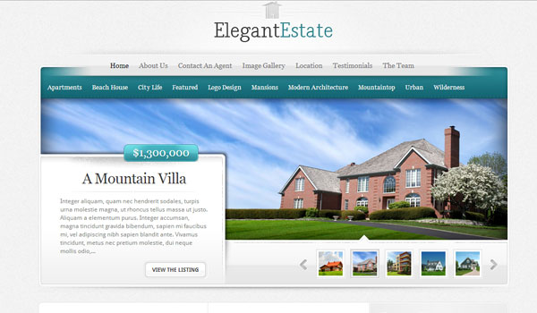 elegantestate 41 Best WordPress Themes