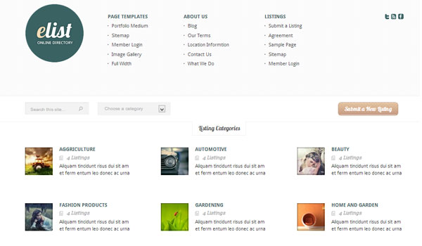 elist 41 Best WordPress Themes