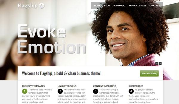 flagship 41 Best WordPress Themes