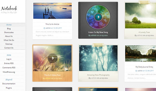 notebook 41 Best WordPress Themes