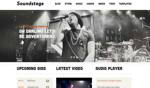 soundstage 41 Best WordPress Themes