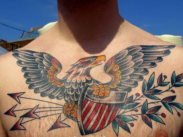 egale 27 Strong Chest Tattoos For 2013