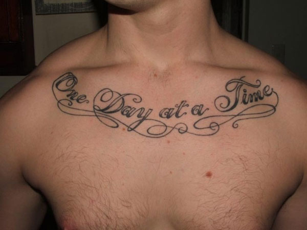 script 27 Strong Chest Tattoos For 2013