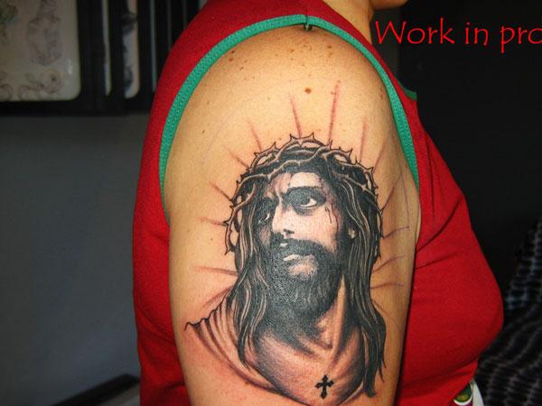 Deep Christian Tattoo
