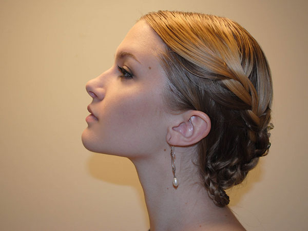 Graceful Braided Updo