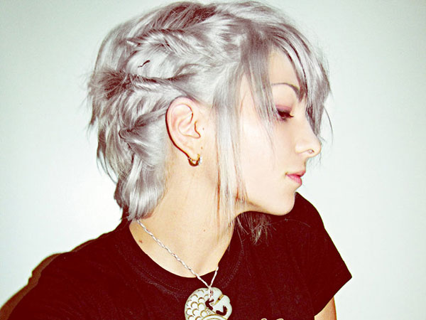 Edgy Cool Hairstyle