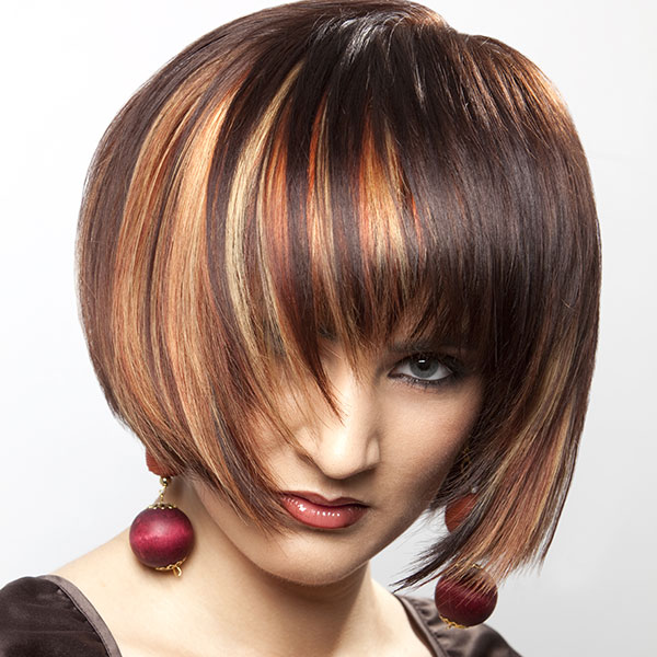 33 Sleek Dark Brown Hair With Highlights For 2013