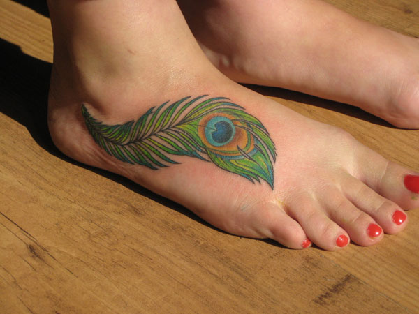 Sensuous Foot Feather