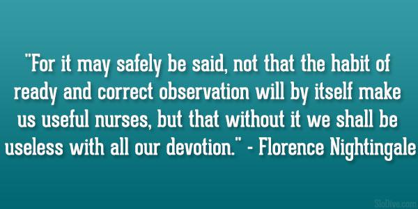 Correct Observation