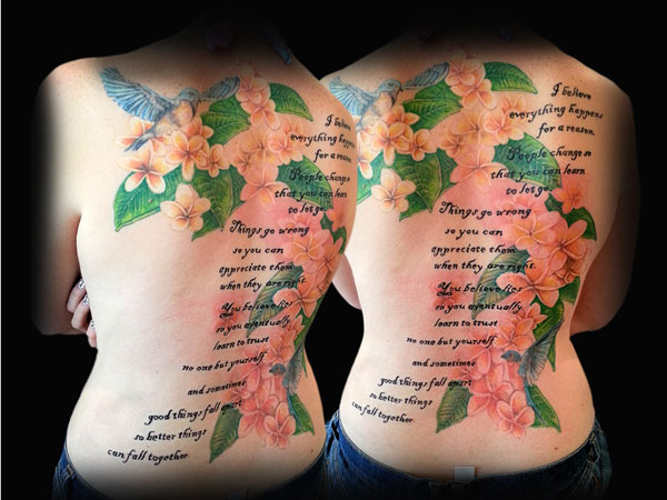 Free Poetry Tattoo