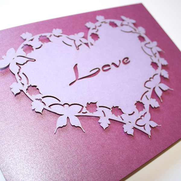 Free Wedding Invitation Samples 65 Awesome Enveloped In A Heart