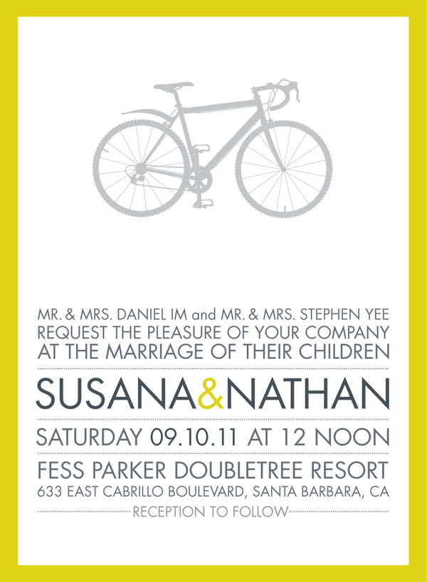 Crisp Wedding Invitations