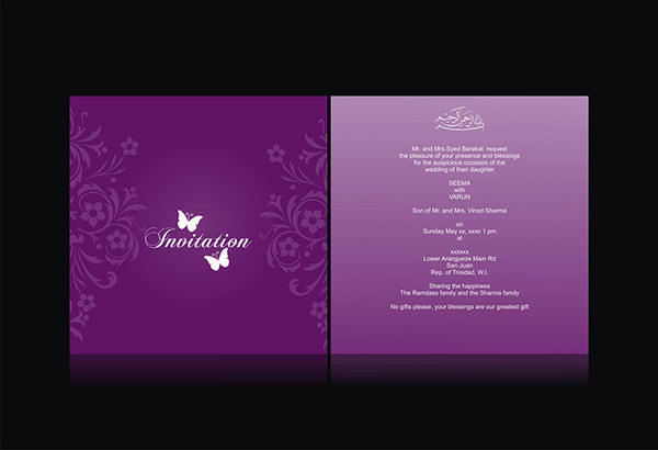 41 Free Wedding Invitation Templates Which Are Useful – Cheap Invitation Card