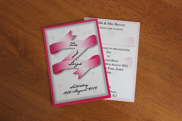 Pretty Invitation Design