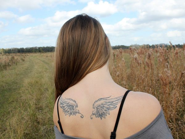 Small Angel Wings Tattoos 24 Dainty Collections Design Press