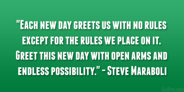 steve maraboli quote 26 Happy Monday Quotes to Start Your Week
