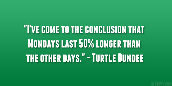 Turtle Dundee Quote