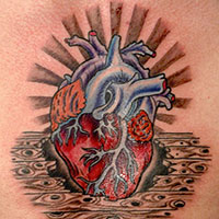 26 Romantic Heart Tattoos For 2013