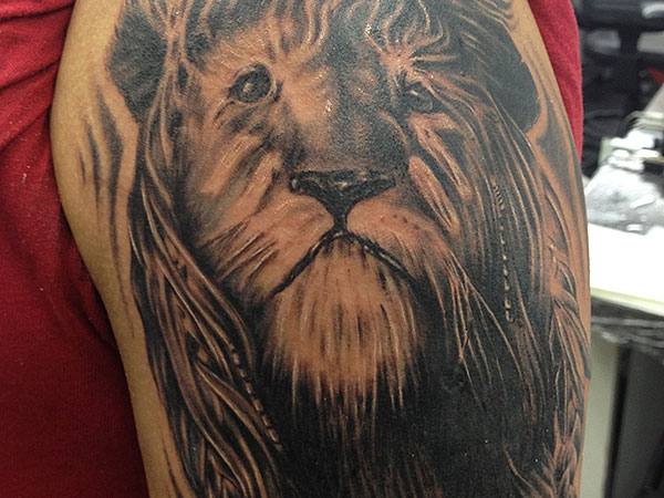 haunted 38 Powerful Lion Tattoos