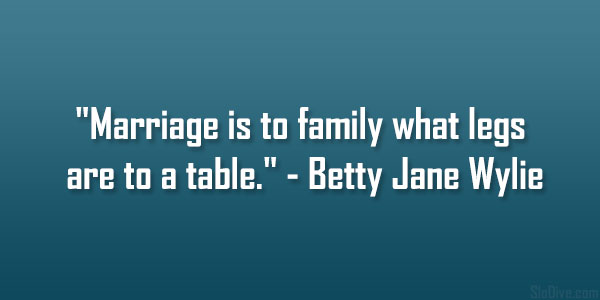 Betty Jane Wylie Quote